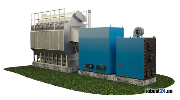 Robust furnace of type U | Robust forced air furnaces - Robust24.eu