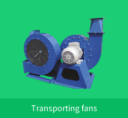 Transporting fans